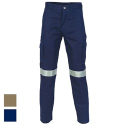 DNC Workwear 3M™ Taped Cotton Drill Cargo Pant 3319
