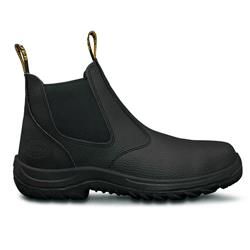 Oliver WB Black Elastic Sided Safety Boot 34-680