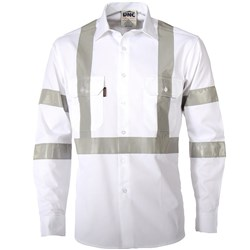 DNC Workwear Night Worker Taped L/S Shirt  3537