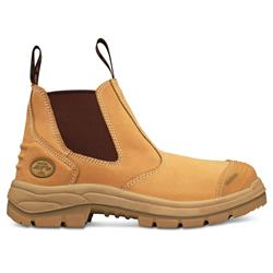 Oliver Wheat Elastic Sided Safety Boots 55-322