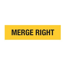 Merge Right 1200x300mm Multi-Message Sign CT284-16H