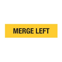 Merge Left 1200x300mm Multi-Message Sign T9-21