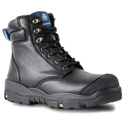 Bata Industrials Ranger Lace Up Scuff Cap Safety Boots