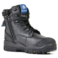 Bata Industrials Longreach Black Z/Sided Safety Boots