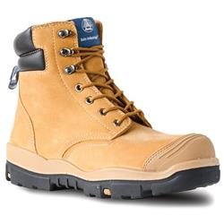 Bata Industrials Ranger Wheat Lace Up Safety Boots