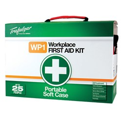 Trafalgar First Aid National Workplace No. 1 Softpack Portable
