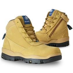 Bata Industrials Horizon Wheat Z/Sided Safety Boots
