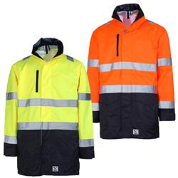 8256 Rainbird Workwear Taped Waterproof Jacket