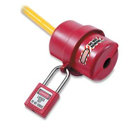 Master Lock® Rotating Electrical Plug Lockout 110 & 220 Volt Plugs 487