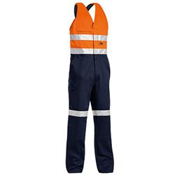 Bisley Workwear Hi-Vis Action Back Overall w/ 3M™ Tape BAB0359T