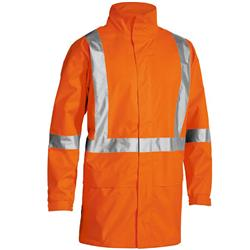 Bisley Safetywear Hi-Vis X Taped Rain Shell Jacket