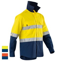 ELEVEN Workwear AeroCOOL Spliced Hi-Vis Perforated 3M™ Taped Shirt