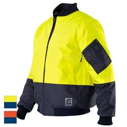 ELEVEN Workwear Hi-Vis Spliced Bomber Jacket
