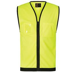 ELEVEN Workwear Day Hi-Vis Zipped Vest