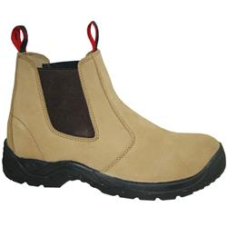 Ubewt E/Sided Steel Capped Suede Safety Boots