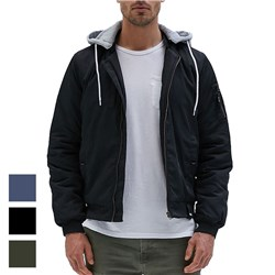 HAWKE Workwear Hooded Bomber Jacket 2.0