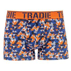 Tradie Men's Printed Trunk Triangle Hype MJ1194T