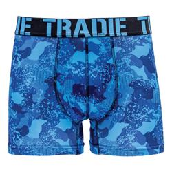 Tradie Men Work and Surf Trunk Camo Edge MJ1656C