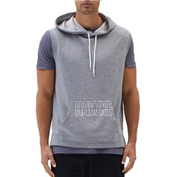 HAWKE Workwear Grey Marle Hooded Vest