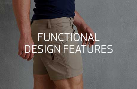 Functional design features