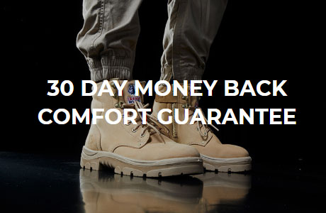 30 Day Money Back Comfort Guarantee