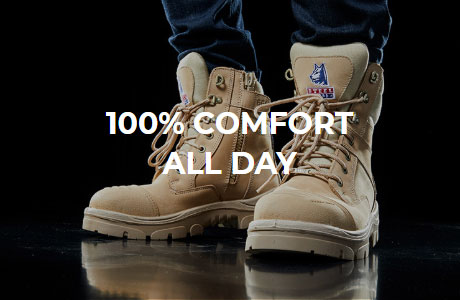 100% Comfort All Day