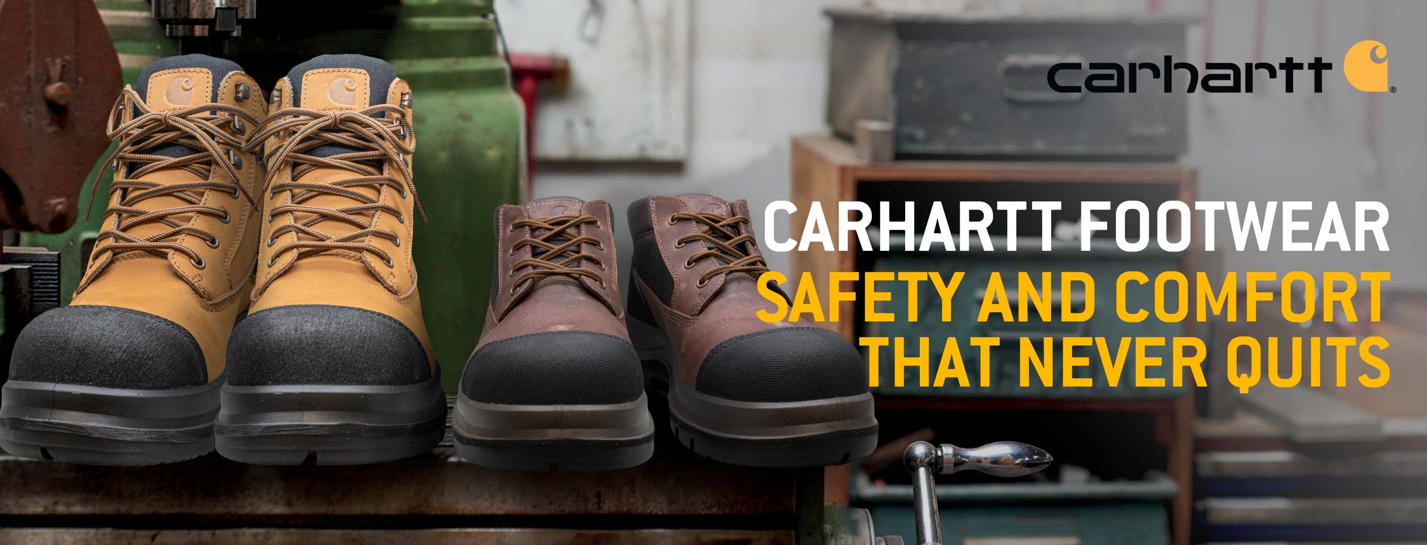 Carhartt Workwear at RSEA Safety - The Safety Experts!