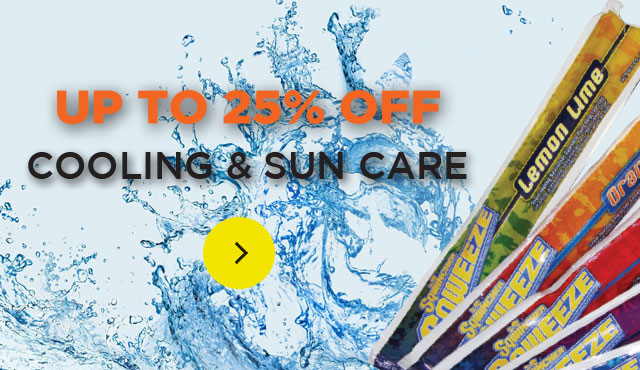 20% OFF Cooling and Sun Care