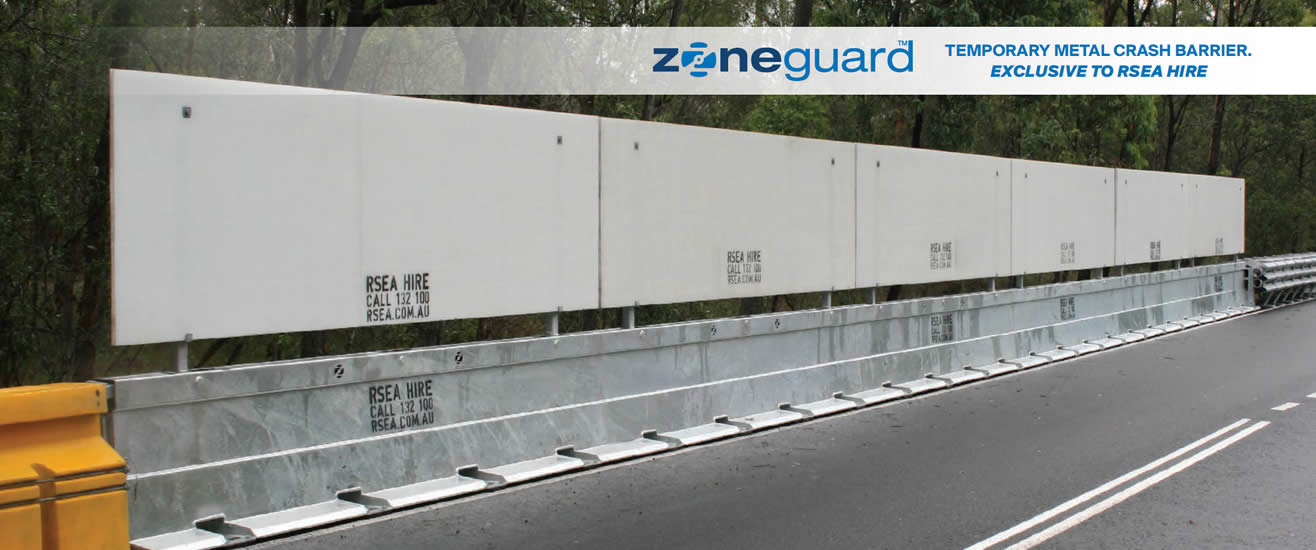 Zoneguard metal barrier at rsea safety