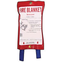Exelgard Fire Blanket 1000 x 1000mm