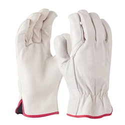 Blue Rapta Cow Grain Leather Rigger Gloves