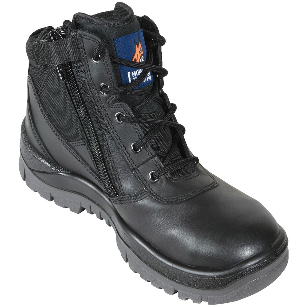 Mongrel P Series Black Zip Sided Safety Boots 261020
