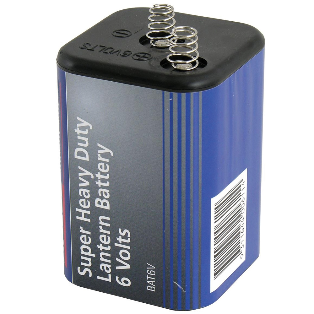 Heavy Duty 6V Lantern Battery ZOOM Prev