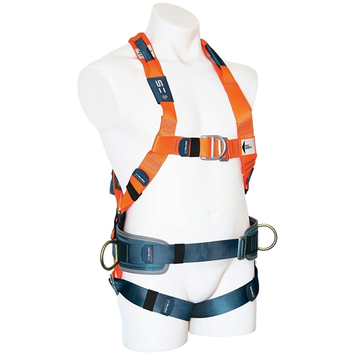 SpanSet® 1107 ERGO Full Body Fall Arrest Harness w/ Padded Waistband