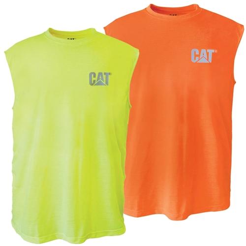debd17014c7ca CAT® Workwear Hi-Vis Sleeveless Tee