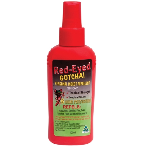 Jackson Agencies Repellent Insect Red Eye Gotcha 100ml Pump REG100P