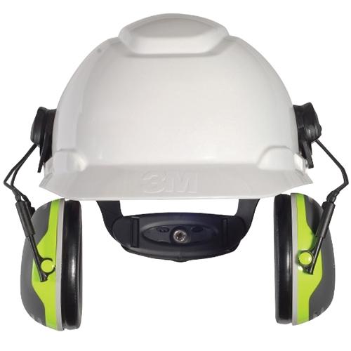 d7b4b9c09d1 3M™ Peltor™ X4 Series 27dB CL5 Premium Cap Attached Earmuff ...