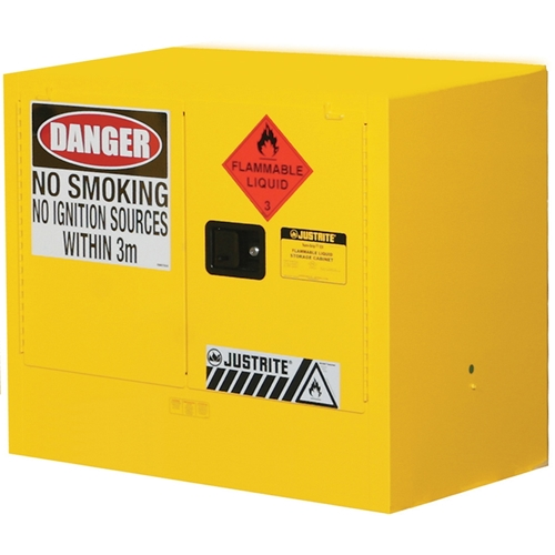 JUSTRITE Under Bench 100L Flammable Liquid Storage Cabinet AU25748
