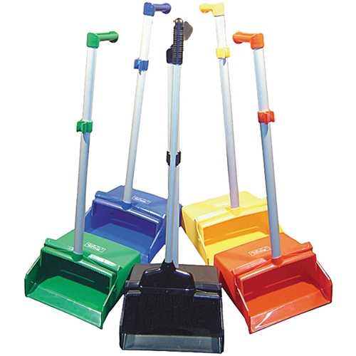 Dust&Pan Set Soft Broom & Clip