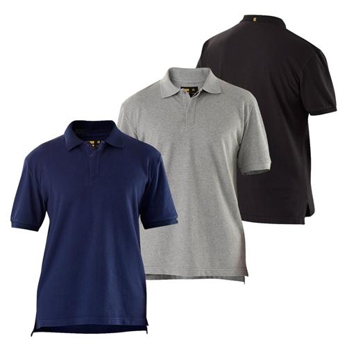 Eleven Workwear Essentials S S Polo Shirt