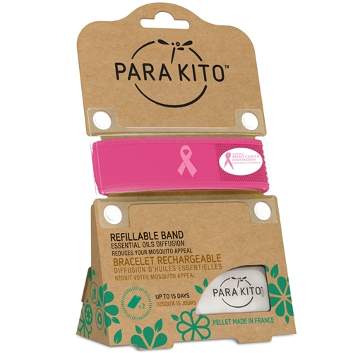 PARA'KITO™ Natural Mosquito Protection Refillable Band
