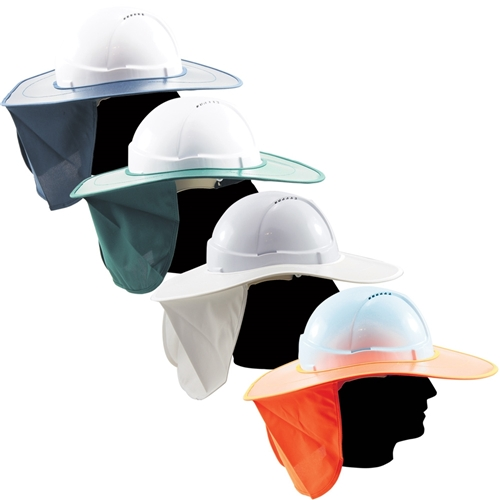 OnSite Safety Plastic Sun Brim with Neck Flap fb341a77f3b