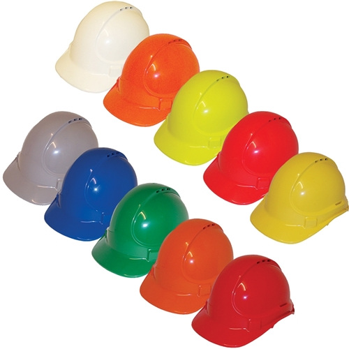 Unisafe 174 Vented Type 1 Abs Plastic Safety Helmets Ta570