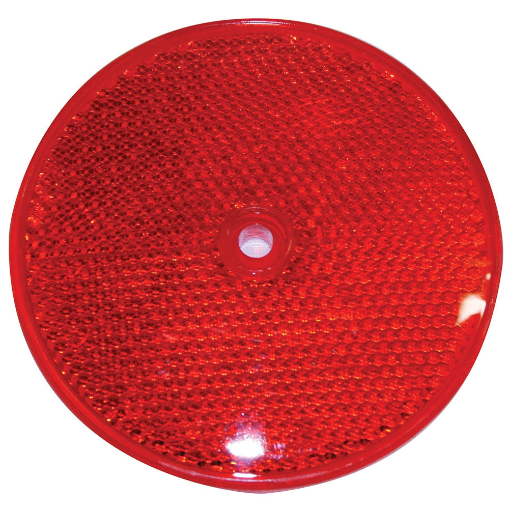 Red Round Reflective Corner Delineator