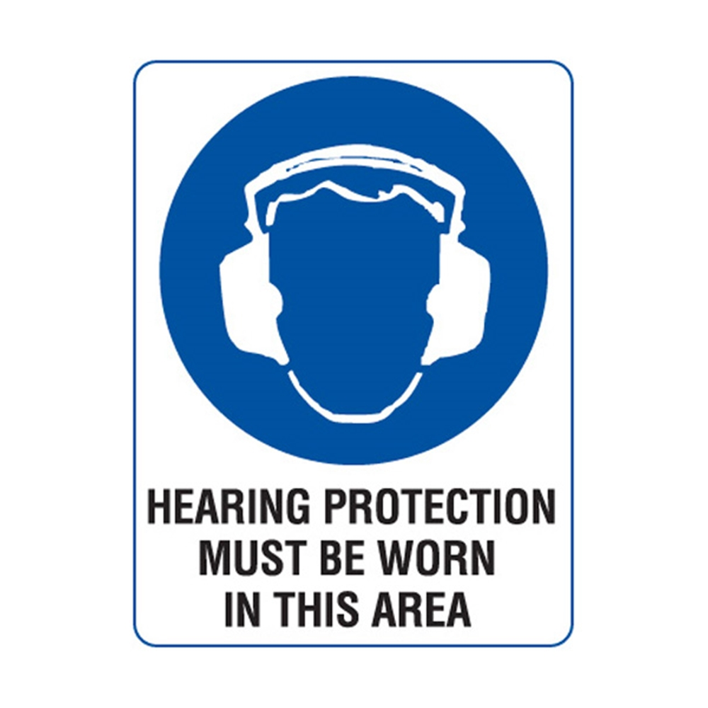 hearing protection sign wwwimgkidcom the image kid