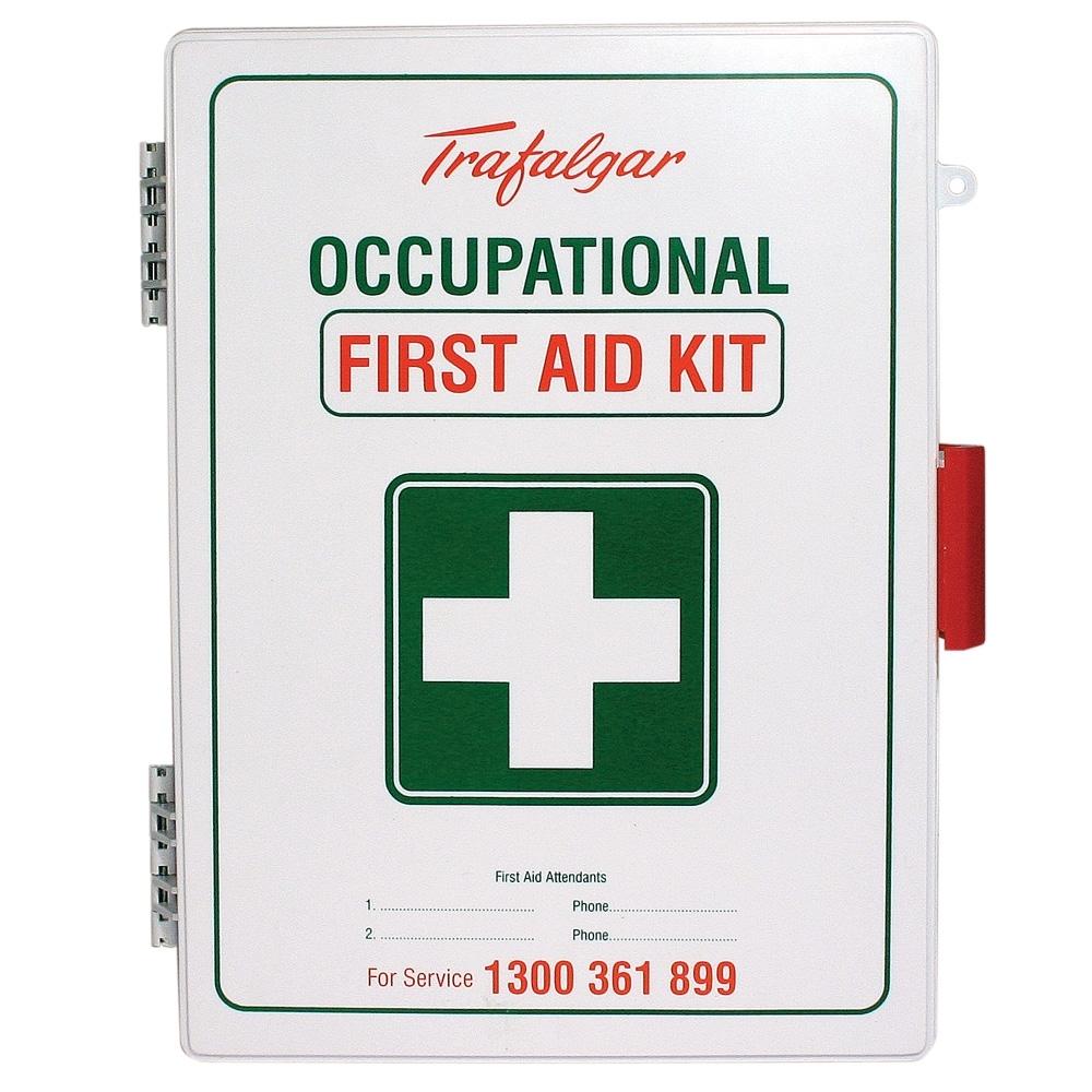Trafalgar Wm1 Workplace Wall Mount Abs Plastic First Aid