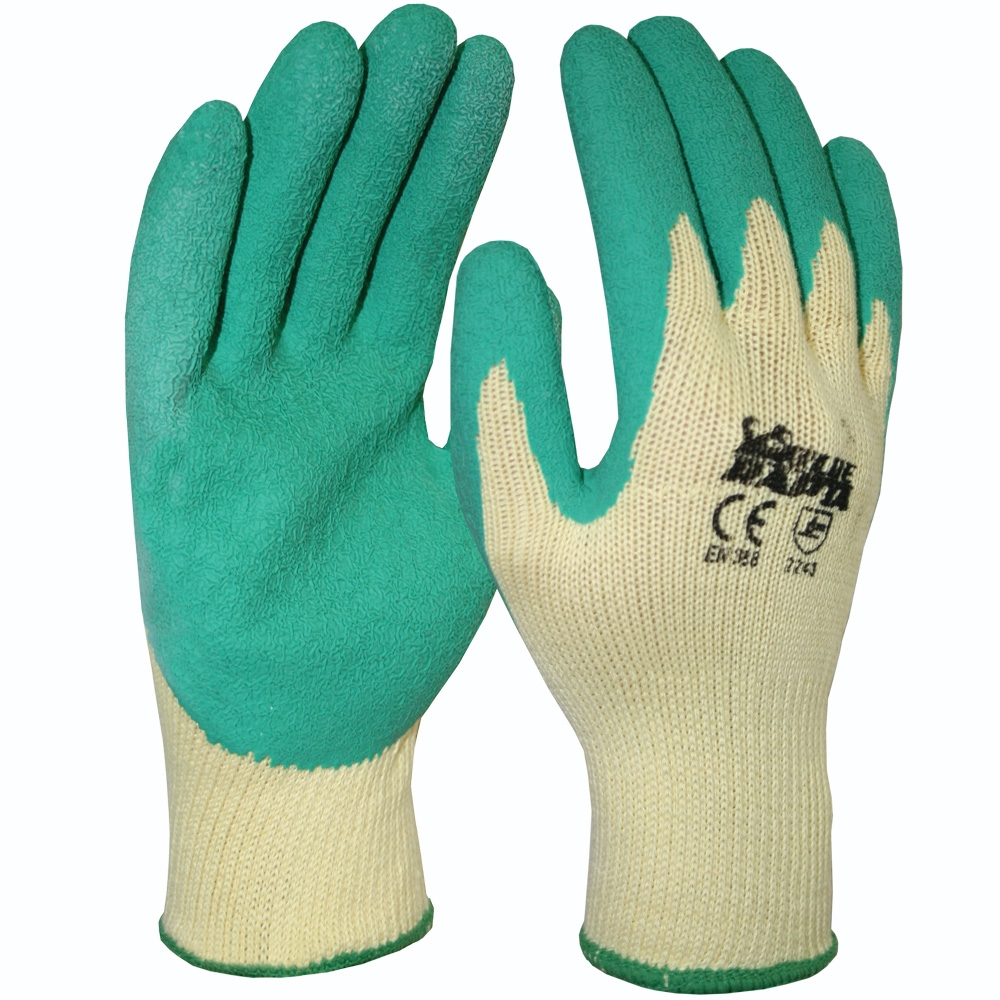 Blue Rapta Latex Coated Palm Gloves