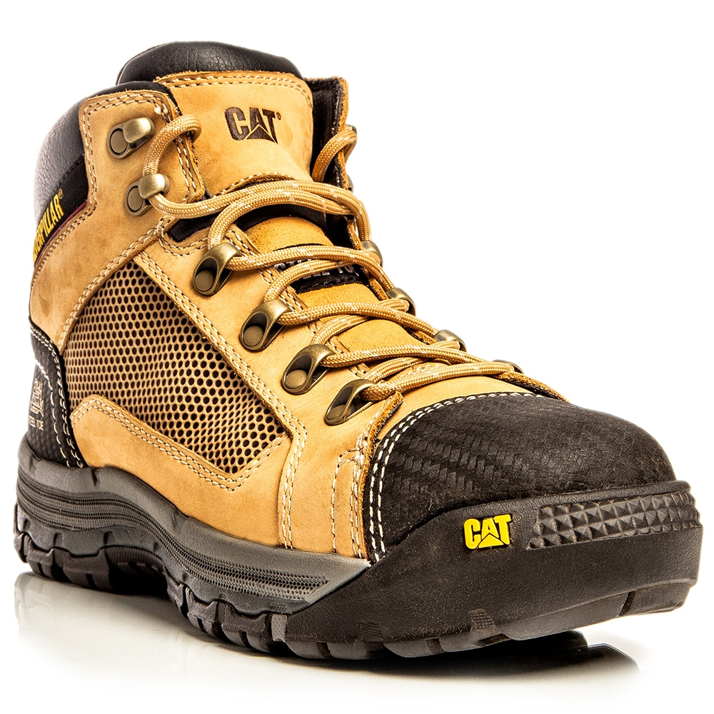 Cat Footwear Convex Honey Zsided Steel Toe Safety Boots