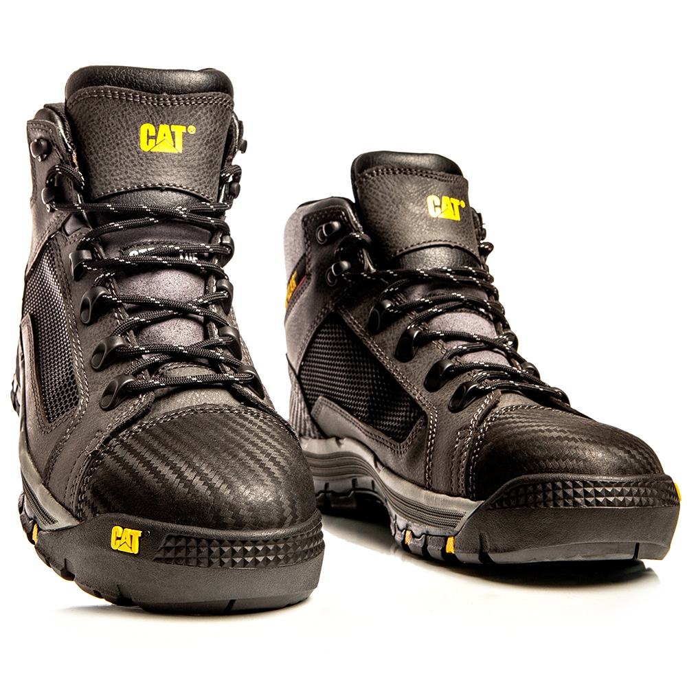 CAT® Convex Black Z Sided Steel Toe Safety Boots ZOOM. CAT® ... 67d492d72