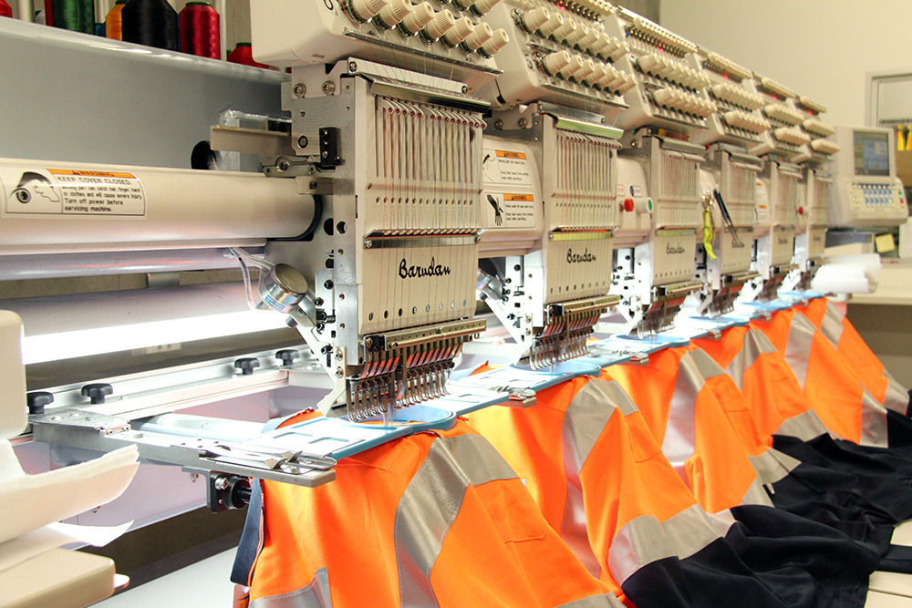 Embroidery Services At Rsea Safety